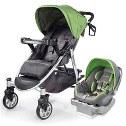 Summer Infant 21360 Spectra Travel System with Prodigy® Infant Car Seat - Mod Green