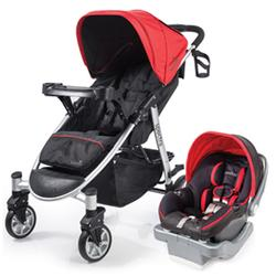 Summer Infant 21340 Spectra Travel System with Prodigy® Infant Car Seat - Jet Set Red