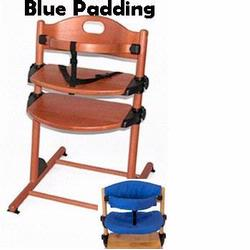 Kettler H4832 M227 Junior High Chair Dark Blue Padding