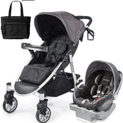 Summer Infant 21350KT Spectra Travel System with Prodigy® Infant Car Seat with Diaper Bag  - Blaze