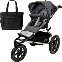 Mountain Buggy Terrain Jogging Stroller Flint with a  Diaper Bag