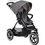 Phil & Teds Navigator Buggy Stroller with Diaper Bag  - Graphite