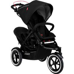 Phil & Teds Navigator Buggy Stroller with Doubles Kit  - Black