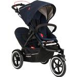 Phil & Teds Navigator Buggy Stroller with Doubles Kit  - Midnight Blue