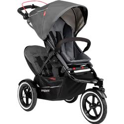 Phil & Teds Navigator Buggy Stroller with Doubles Kit  - Graphite