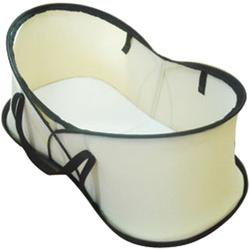 Phil & Teds Nest portable baby bassinet and; travel bag - Beige