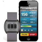 Scosche RHYTHM Bluetooth Armband Heart Rate Monitor for Women Gray