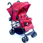 Kinderwagon 610RED, HOP Tandem Umbrella Double Stroller Red