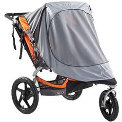 BOB WS1122 Sun Shield for Duallie Sport Utility Stroller/Ironman Models, Gray