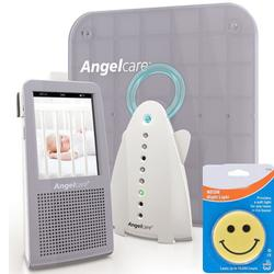 AngelCare AC-1100 Video Movement & Sound Baby Monitor with Night Light