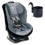 Britax Boulevard G4 Convertible Car Seat w/Cup Holder  -  Silver Birch