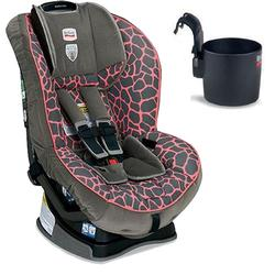 Britax Marathon G4 Convertible Child Seat w/ Cup Holder - Pink Giraffe