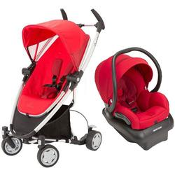 Quinny Zapp Xtra Travel system with car seat - Rebel Red