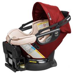 Orbit Baby  ORB842000R G3 Infant Car Seat with Base - Ruby/Khaki