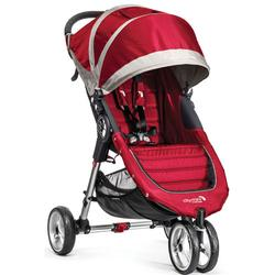 Baby Jogger BJ11436 - City Mini Single Stroller - Crimson/Gray