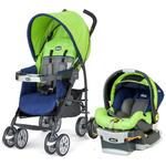 Chicco Neuvo Compact 30 lb  Travel System - Tropic