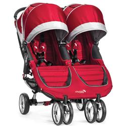 Baby Jogger BJ12436 - City Mini Double Stroller - Crimson/Gray
