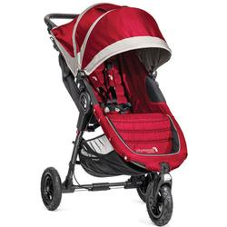 Baby Jogger BJ15436 - City Mini GT Single Stroller - Crimson/Gray