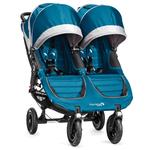 Baby Jogger BJ16429 - City Mini GT Double Stroller - Teal/Gray