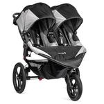Baby Jogger BJ32410 - Summit X3 Double Jogging Stroller - Black/Gray