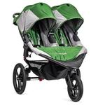 Baby Jogger BJ32440 - Summit X3 Double Jogging Stroller - Green/Gray