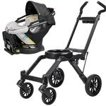 Orbit Baby G3 Travel System - Car Seat and Frame, Black