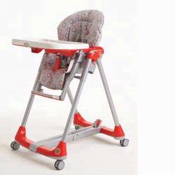 Peg Perego IMPDIBNA76BU49 Prima Pappa Diner High Chair,Red Bubbles