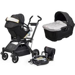 Orbit Baby Infant Travel Collection G3 Bassinet and Car Seat- Black