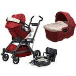 Orbit Baby Infant Travel Collection G3 Bassinet and Car Seat- - Ruby
