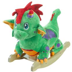 Rockabye 85049 - Poof the Lil Dragon Rocker