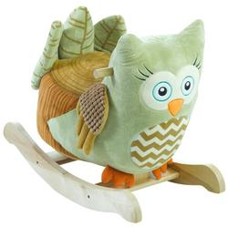 Rockabye 85046 - Owliver Green Owl Rocker