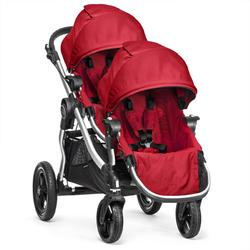 Baby Jogger - City Select Stroller with Second Seat - Ruby