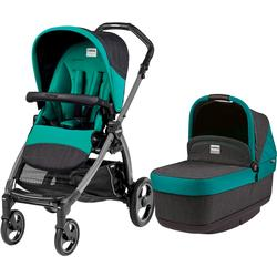 Peg Perego - Book Pop Up Stroller - Aquamarine-Teal