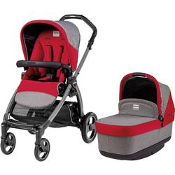 Peg Perego - Book Pop Up Stroller - Tulip-Grey & Red