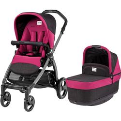 Peg Perego - Book Pop Up Stroller - Fleur-Raspberry Pink