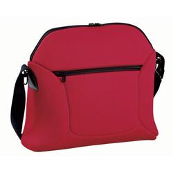 Peg-Pérego - IABO1600-MJ49 Borsa Soft Diaper Bag - Flamenco- Cherry Red/Black