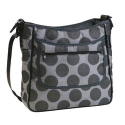 Peg-Pérego - IABO15CA-UT53PG53 Borsa Diaper Bag - Pois Grey - Light Grey / Charcoal Grey Dots