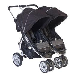 ValcoBaby TLA8861EX Twin Latitude Stroller, EX Licorice