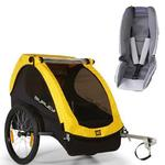 Burley - Bee Trailer with Baby Snuggler Kit