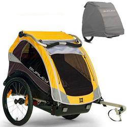 Burley - Cub Trailer with Storage Cover - Yellow