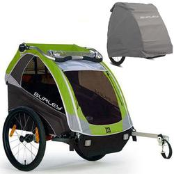 Burley - D-Lite Trailer with Storage Cover - Green