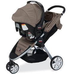 Britax S896600- B-Agile and B-Safe Travel System, Sandstone