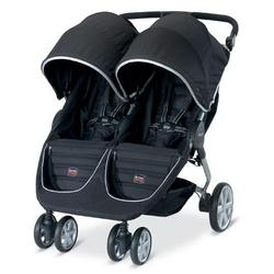 Britax U471819 - B-Agile Double in Black with matching diaper bag