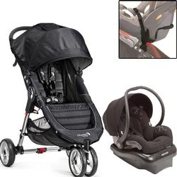 Baby Jogger - City Mini Mico Travel System - Black/Gray