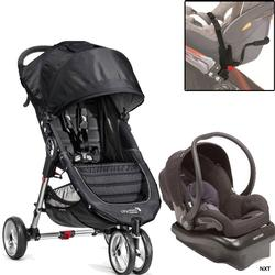 Baby Jogger - City Mini Mico-Nxt Travel System - Black/Gray