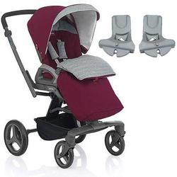 Inglesina - Quad Stroller with Car Seat Adapter - Outback
