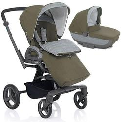 Inglesina - Quad Stroller with Bassinet - Forest