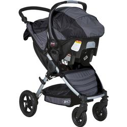 BOB S910600 - Motion Travel System with Stroller and Car Seat - Black