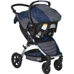 BOB S910700 - Motion Travel System with Stroller and Car Seat - Navy