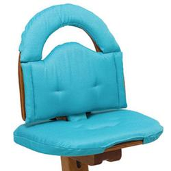 Svan Chair Cushion, Turqoise